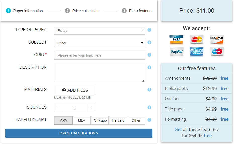 speedypaper.com order form